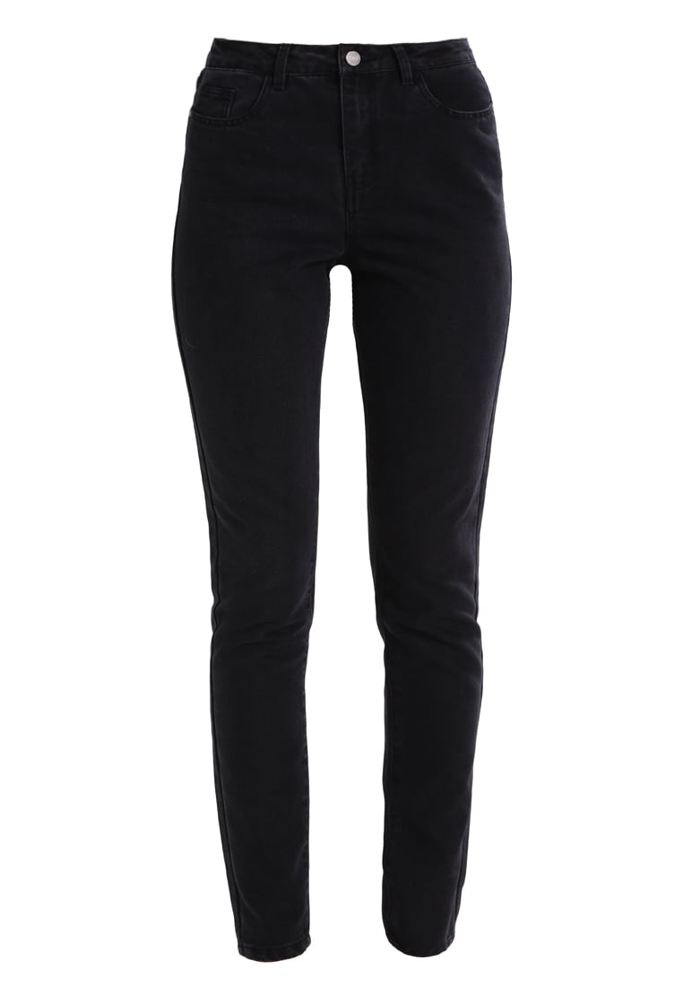 Noisy May NMCARA DONNA MOM  Jeansy Slim Fit black