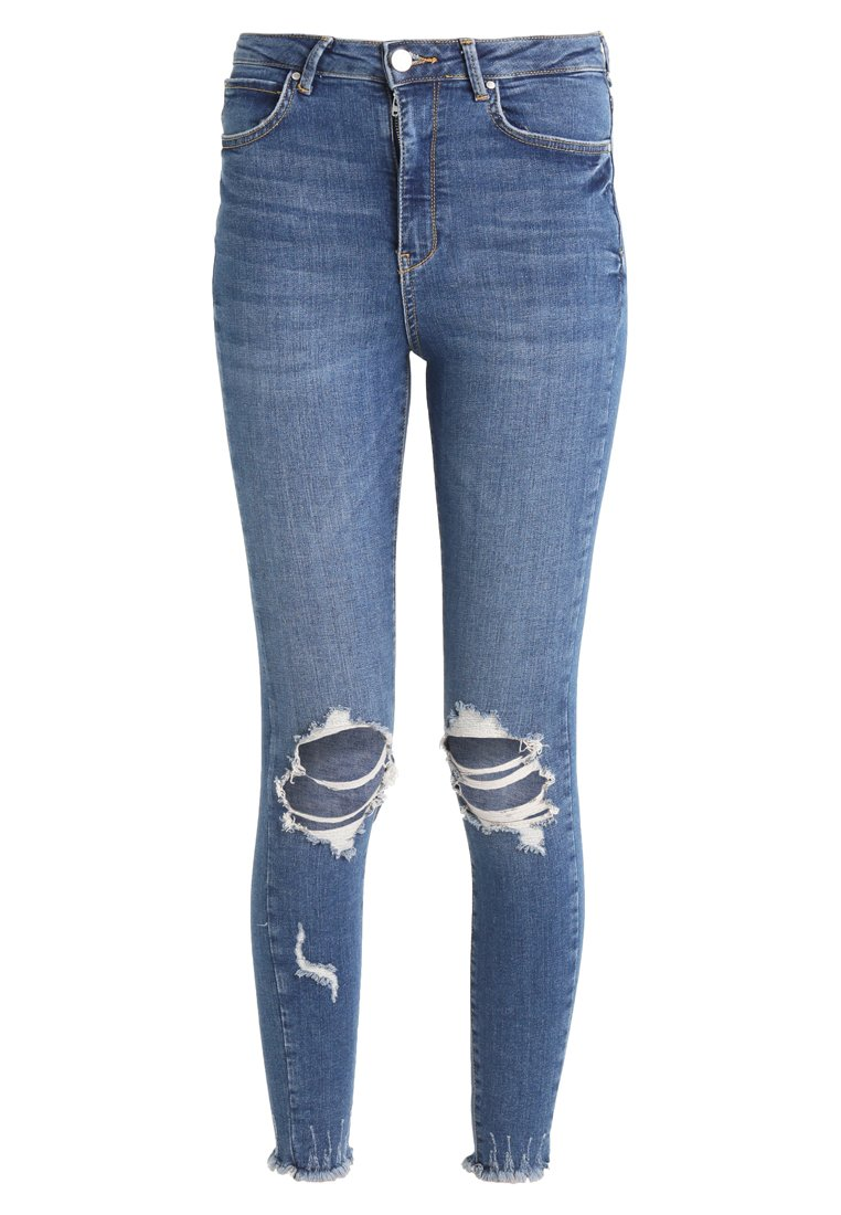 Gina Tricot CURVED Jeans Skinny Fit blue - 77848