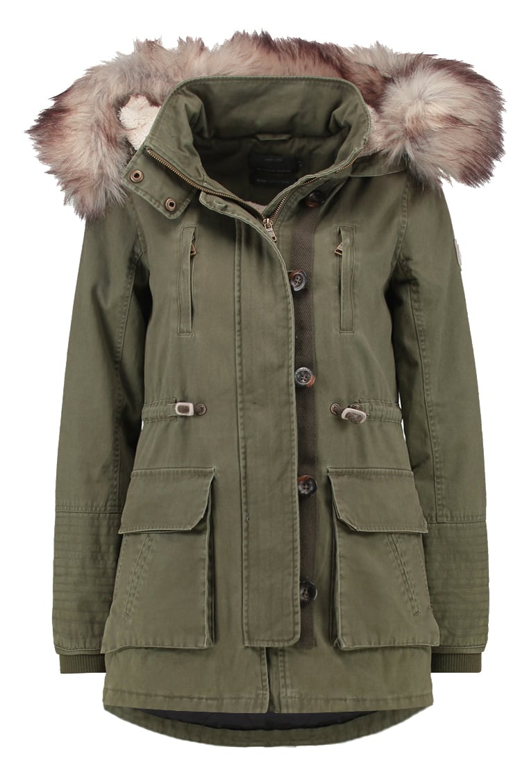 Only Petite ONLCOSTA Parka ivy green - 15127058