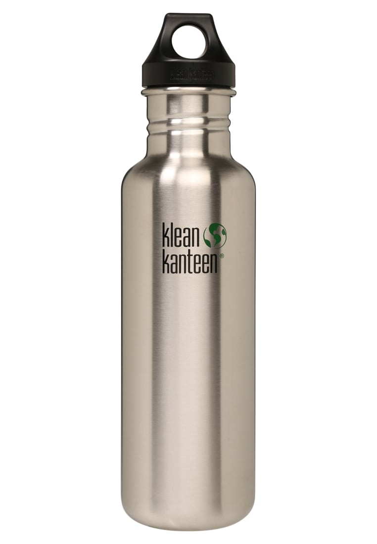 Klean Kanteen CLASSIC MIT LOOP CAP 800ml Bidon brushed stainless - 8020032