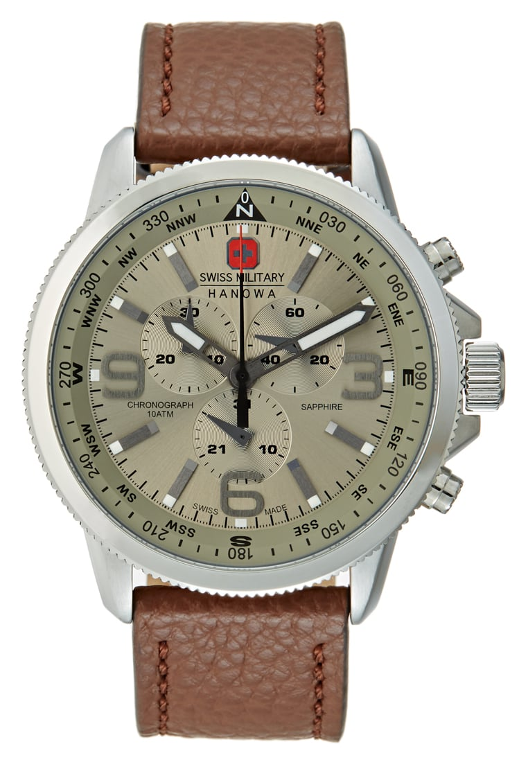 Swiss Military Hanowa ARROW Zegarek chronograficzny darkbrown - 06-4224.04.030