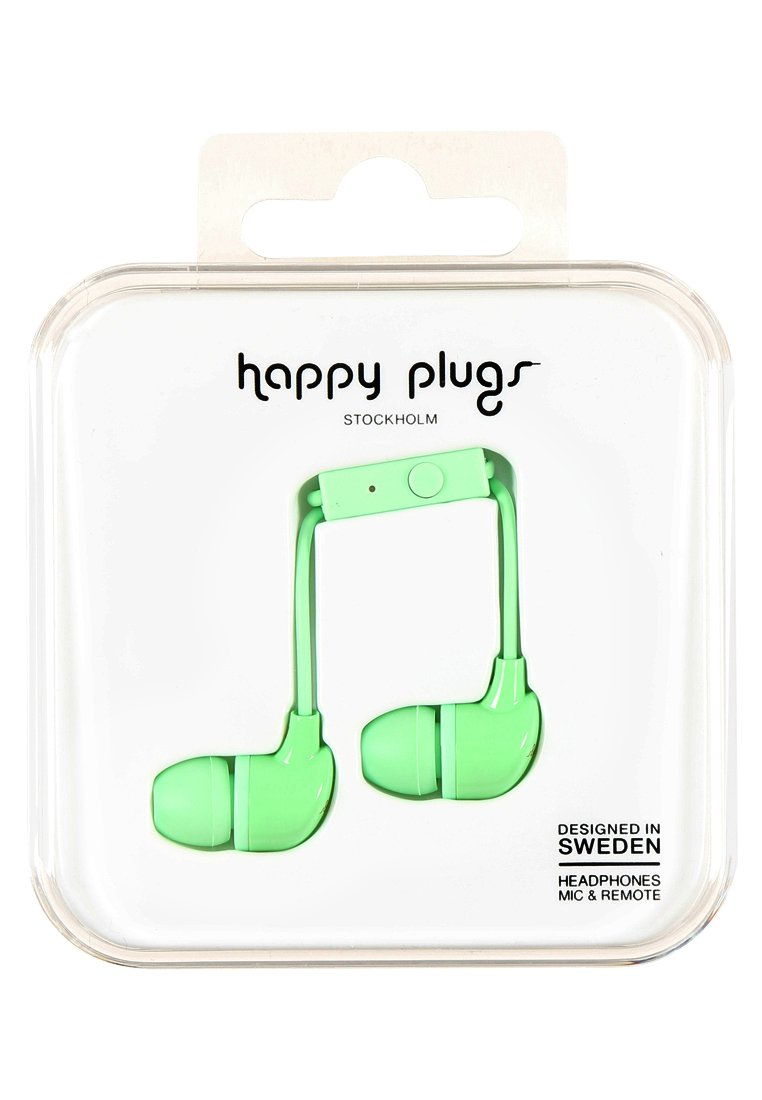 Happy Plugs Słuchawki mint - Happy Plugs In-Ear