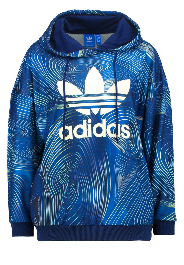 adidas Originals BLUE GEOLOGY Bluza multco - MKQ15