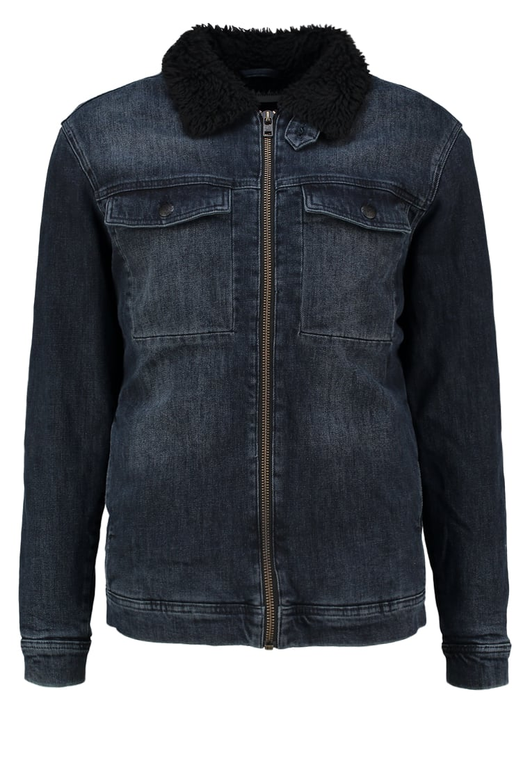 Won Hundred ASHTON Kurtka jeansowa petrol blue - 15841