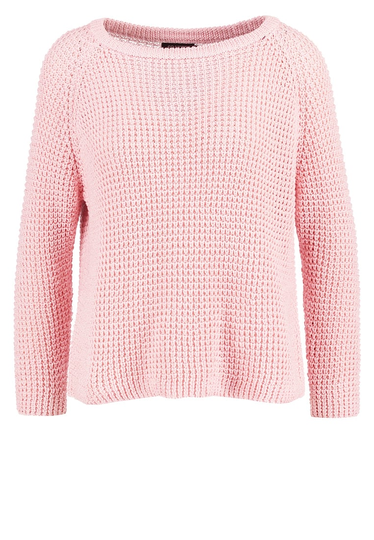 Soaked in Luxury RIVIERA Sweter silver pink