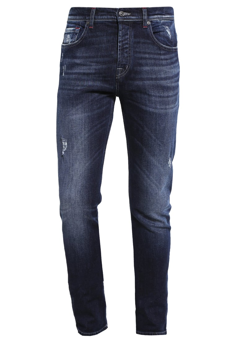7 for all mankind CHAD Jeansy Straight leg indigo - SD3L 390SA