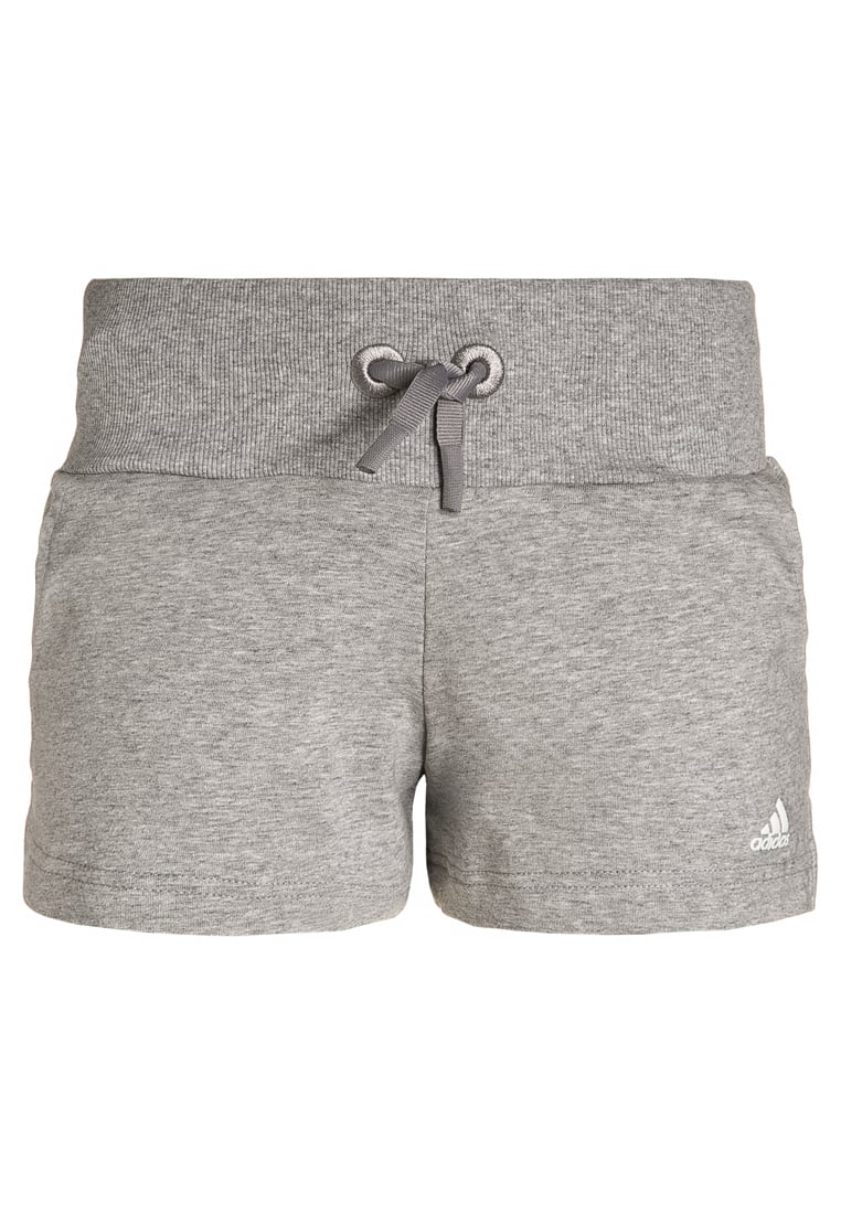 adidas Performance ATHLETICS Krótkie spodenki sportowe medium grey heather/white - BQO82