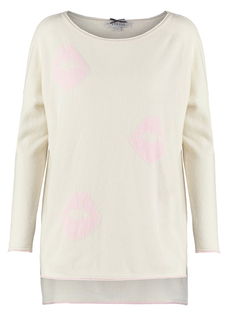 Cocoa Cashmere Sweter chalk/nude - CC1044