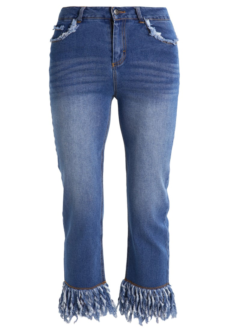 Neon Rose Jeansy Straight leg blue denim - NRDM47