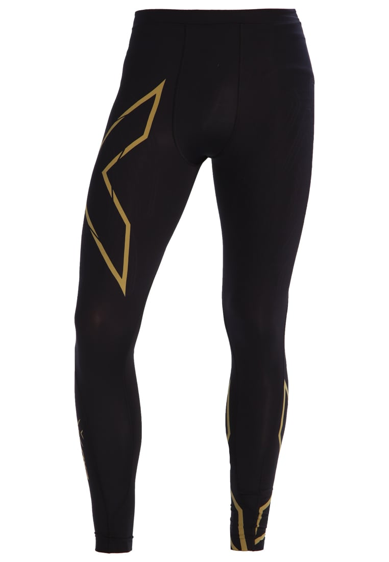 2XU Legginsy black/gold - MA4411b