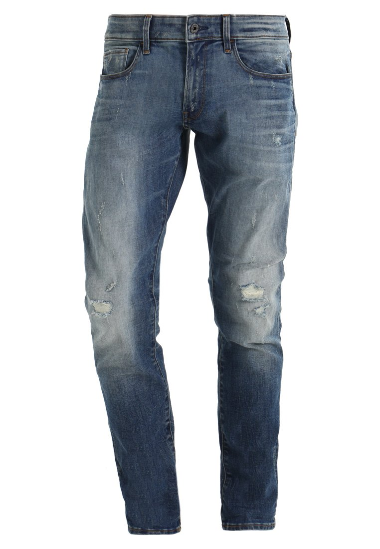 GStar 3301 DECONSTRUCTED SUPER SLIM Jeansy Slim Fit elto superstretch - D01159