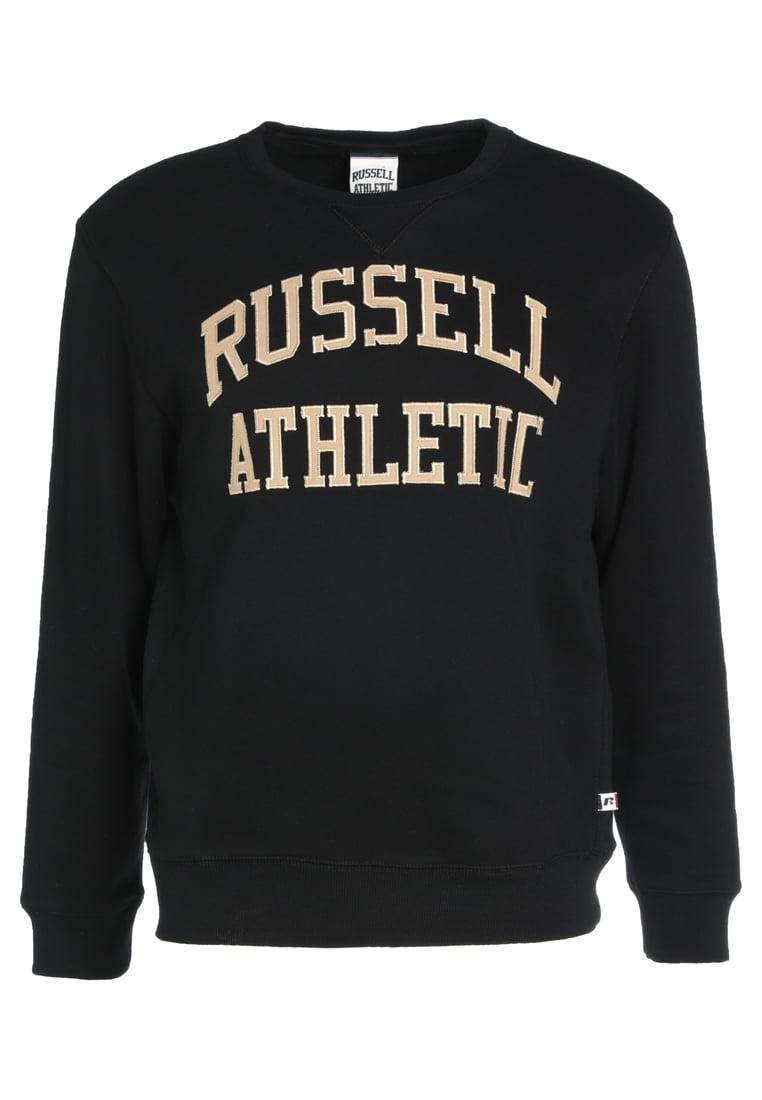 Russell Athletic CREW NECK TACKLE Bluza black - A7-005-2