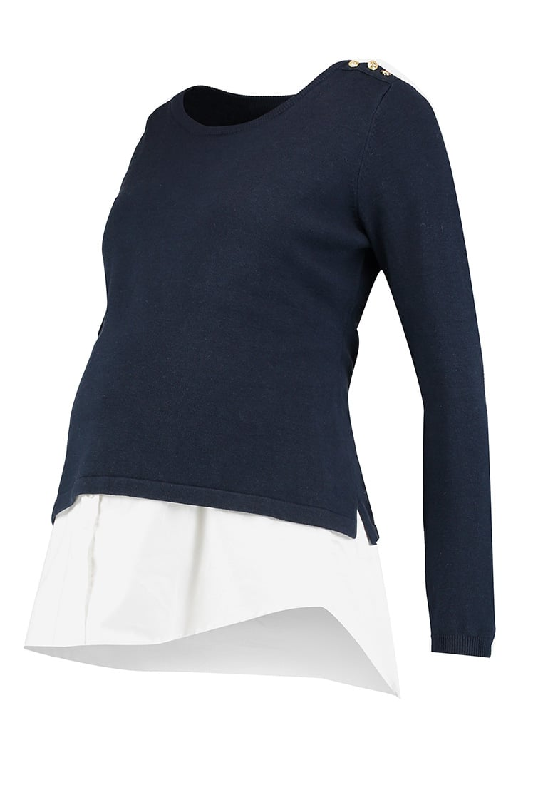 Seraphine ALANIS NURSING 2IN1 Sweter navy/white - W020075