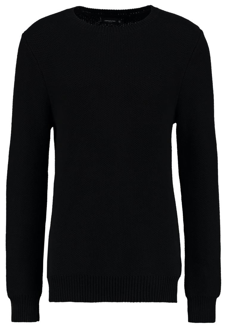 Earnest Sewn CONNEL Sweter black - 1S016002
