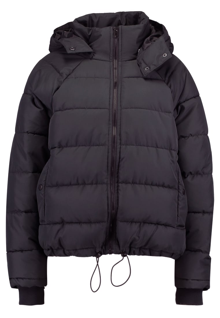 Even&Odd SUPER WIDE PUFFER Kurtka zimowa black