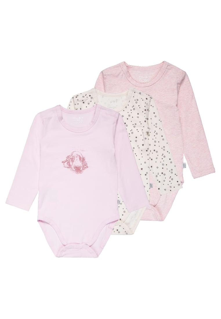 Hust & Claire BABY 3 PACK Body soft rose - 29639566