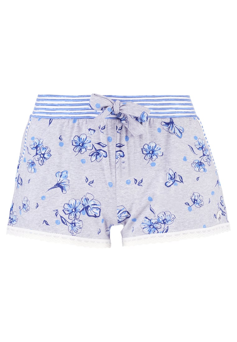 Short Stories BLUETASTIC Spodnie od piżamy grey melange - 620344