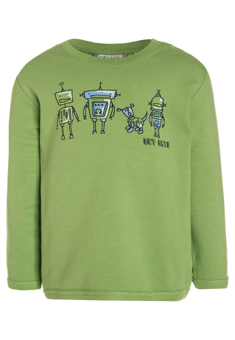 Eat ants by Sanetta Bluza lime green - 114067
