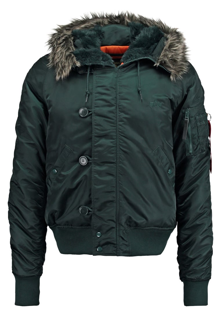 Alpha Industries Kurtka zimowa dark petrol - 158142