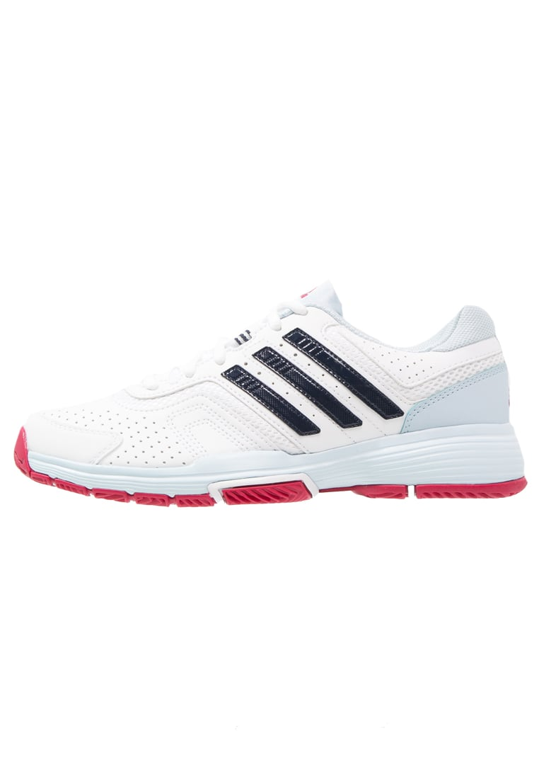 adidas Performance BARRICADE COURT 2 Buty do tenisa Outdoor white/collegiate navy/ice blue - KDP19