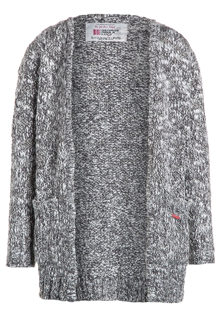 GEORGE GINA & LUCY girls Kardigan frost grey melange - 050043