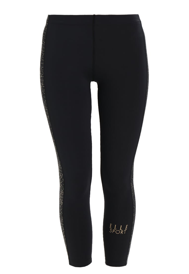 Elle Sport Legginsy black/gold
