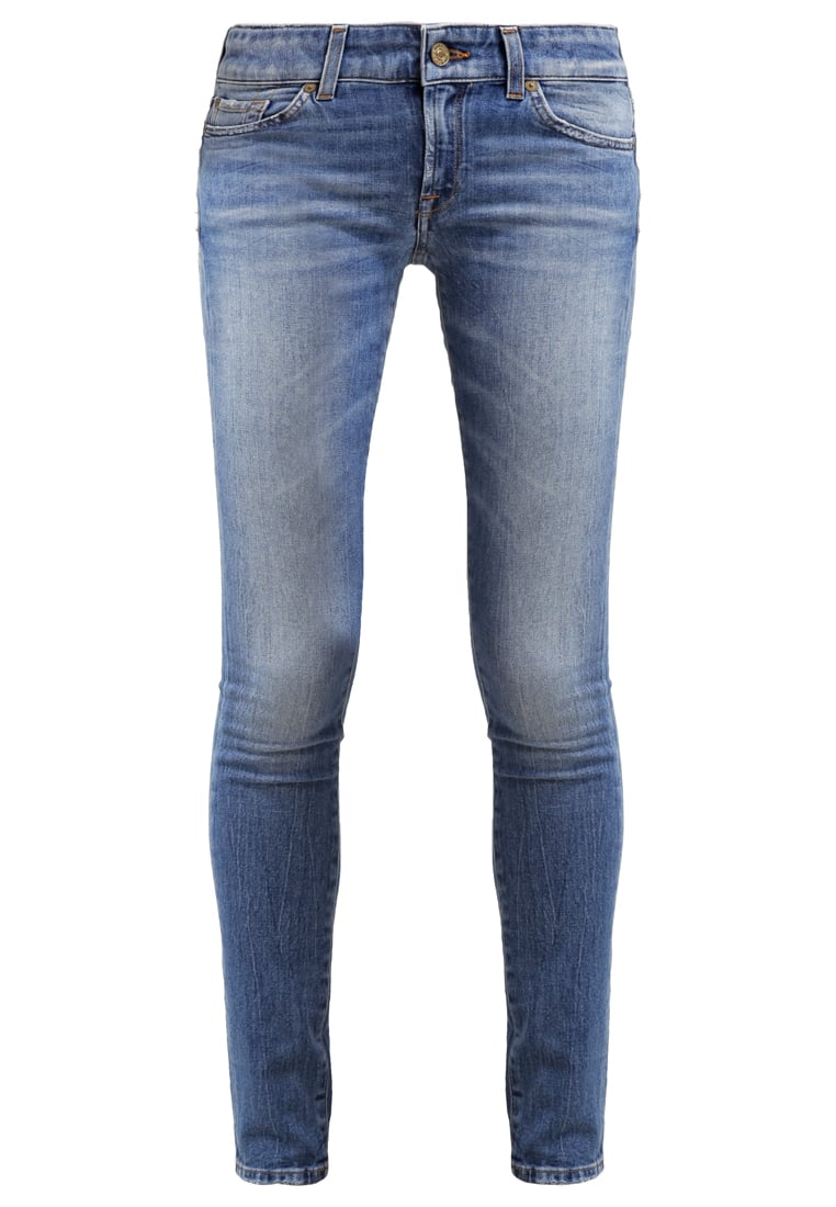 7 for all mankind CRISTEN Jeansy Slim fit lightblue denim - SWML540