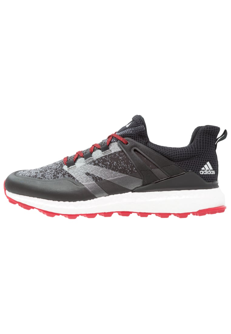 adidas Performance CROSSKNIT BOOST Buty do golfa core black/onix/scarlet - Q44684