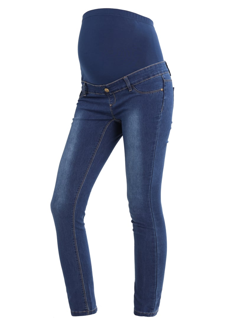 DP Maternity Jeansy Slim Fit blue - 17343024