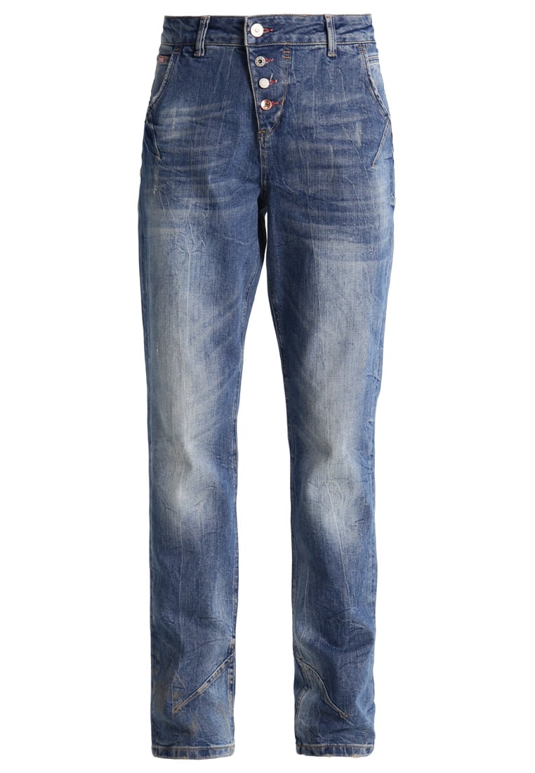 H.I.S SAMANTHA Jeansy Relaxed fit premium light blue wash - 101205