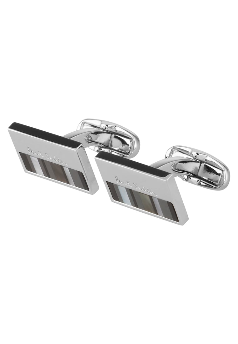 Paul Smith CUFFLINKLOGO Spinka do mankietów silvercoloured - AUPC/CUFF/MOPL