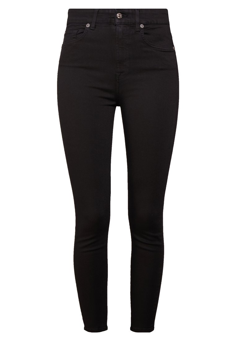 7 for all mankind AUBREY Jeans Skinny Fit illusion luxe rinsed black - JSCC5260