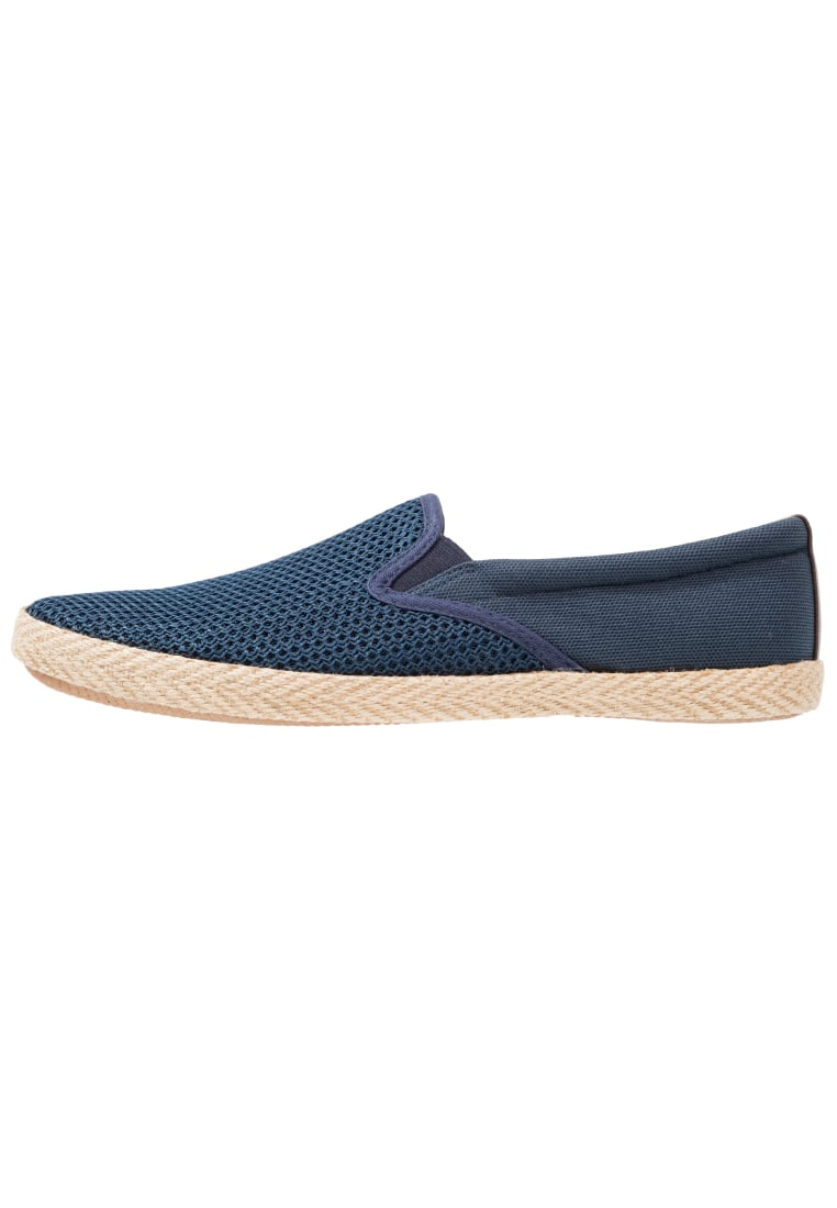 Burton Menswear London BINGLEY Espadryle navy - 90S04KNVY