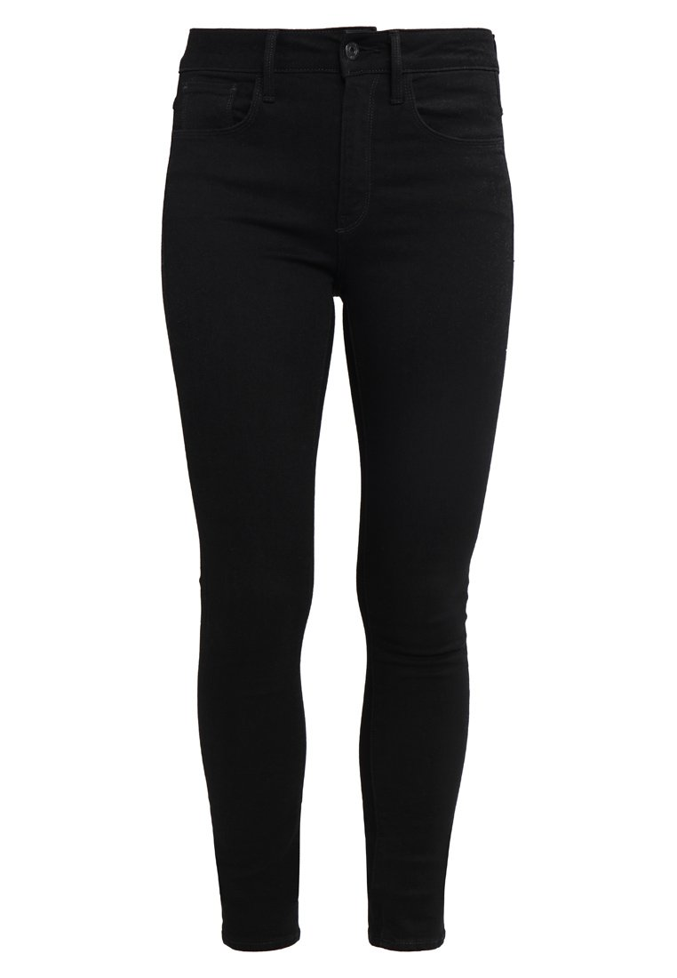 GStar 3301 HIGH SKINNY Jeans Skinny Fit ita black superstretch - D06053
