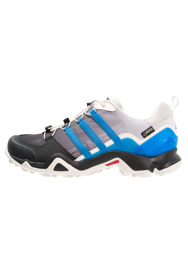 adidas Performance TERREX SWIFT R GTX Półbuty trekkingowe chalk white/shock blue/core black - KEF36