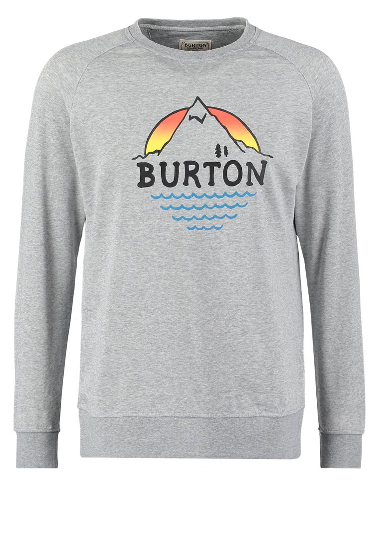 Burton PANORAMA  Bluza gray heather  taniej o 50%