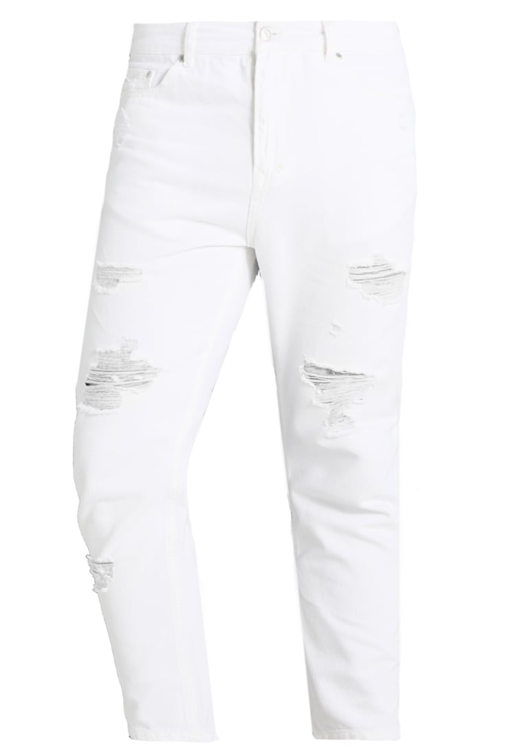 Brooklyn's Own by Rocawear Jeansy Relaxed fit white denim - BR-0317-M-0522