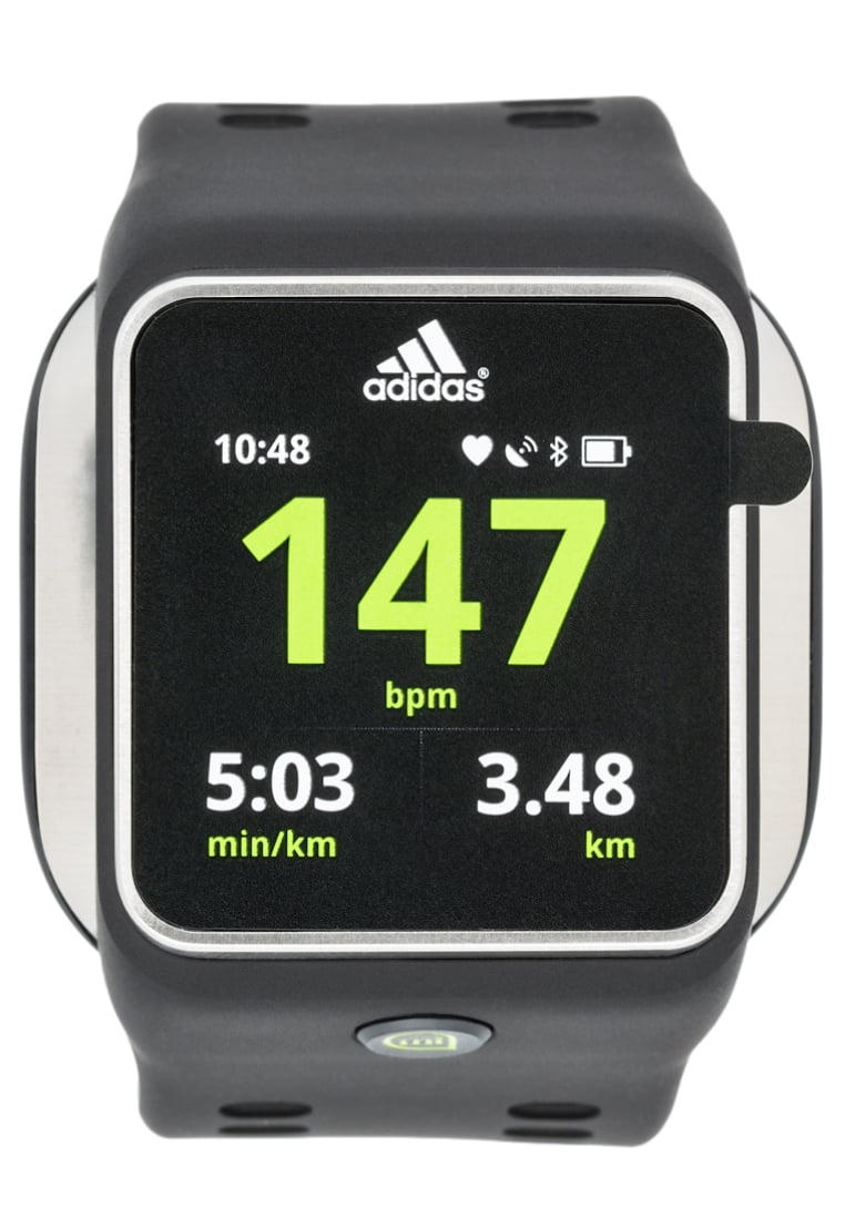 adidas Performance SMART RUN Pulsometr black - AG042