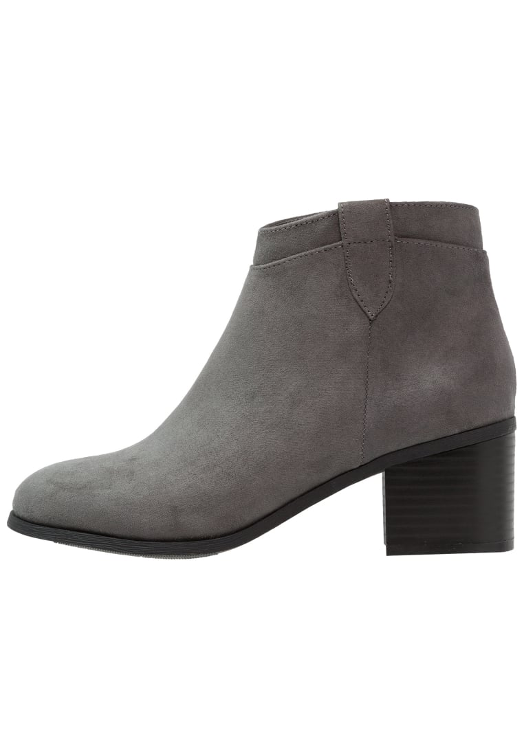 New Look Wide Fit COWGIRL Ankle boot mid grey - 5037419