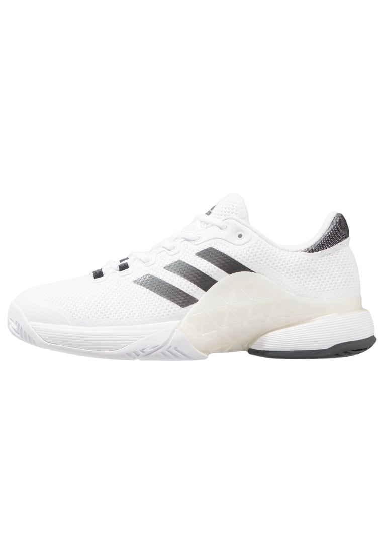 adidas Performance BARRICADE 2017 Buty do tenisa Outdoor footwear white/solid grey - KDW16