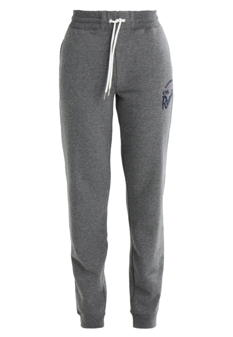 Russell Athletic CUFFED WITH GRAPHIC Spodnie treningowe collegiate grey marl - A7-142-2