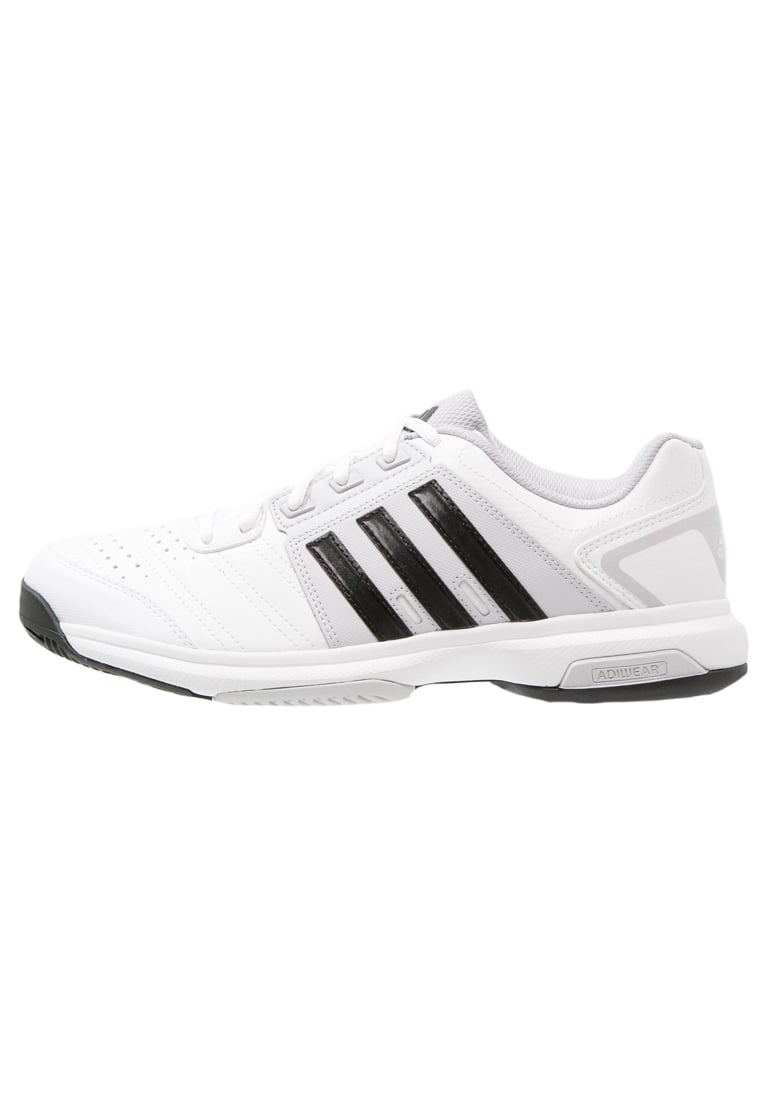 adidas Performance BARRICADE APPROACH Buty multicourt white/core black/solid grey - KCV76