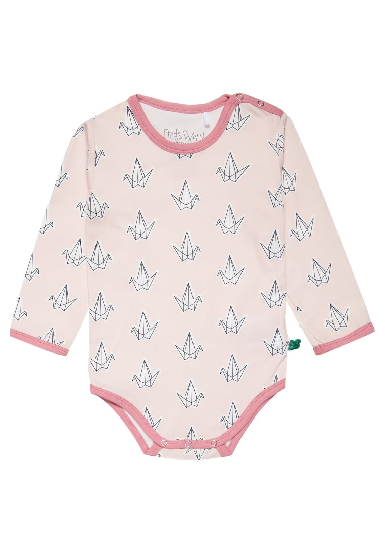 Fred's World by GREEN COTTON BIRD Body rose - 1582019200