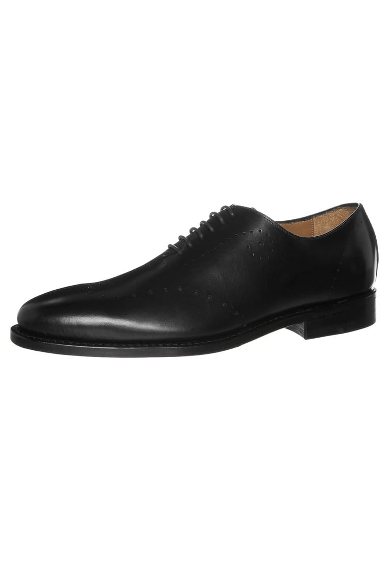 Prime Shoes BARI Oksfordki calf black - PS Bari