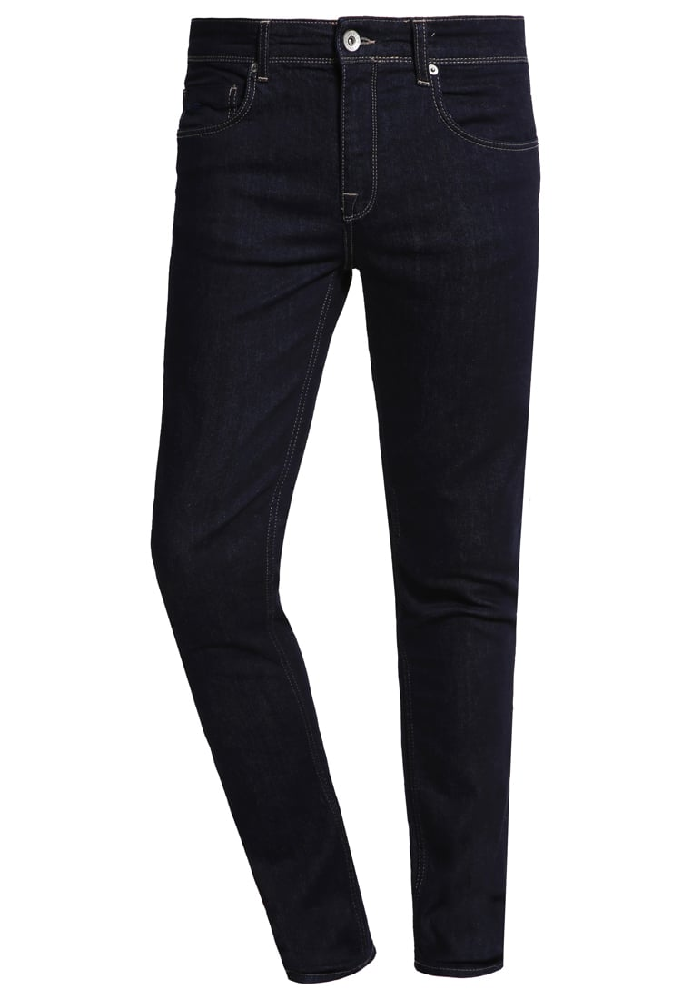 Selected Homme Jeansy Slim fit dark blue denim - 16051820