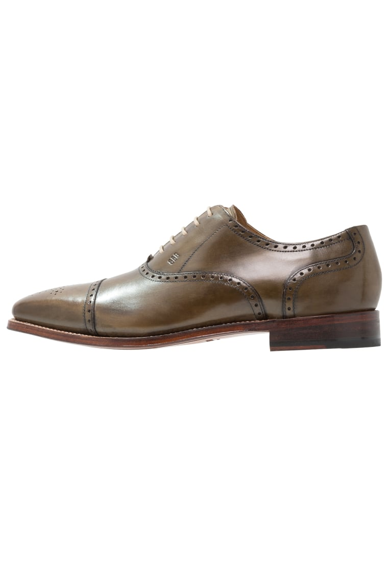 Gordon and Bros LUCQUIN Eleganckie buty green - 2830