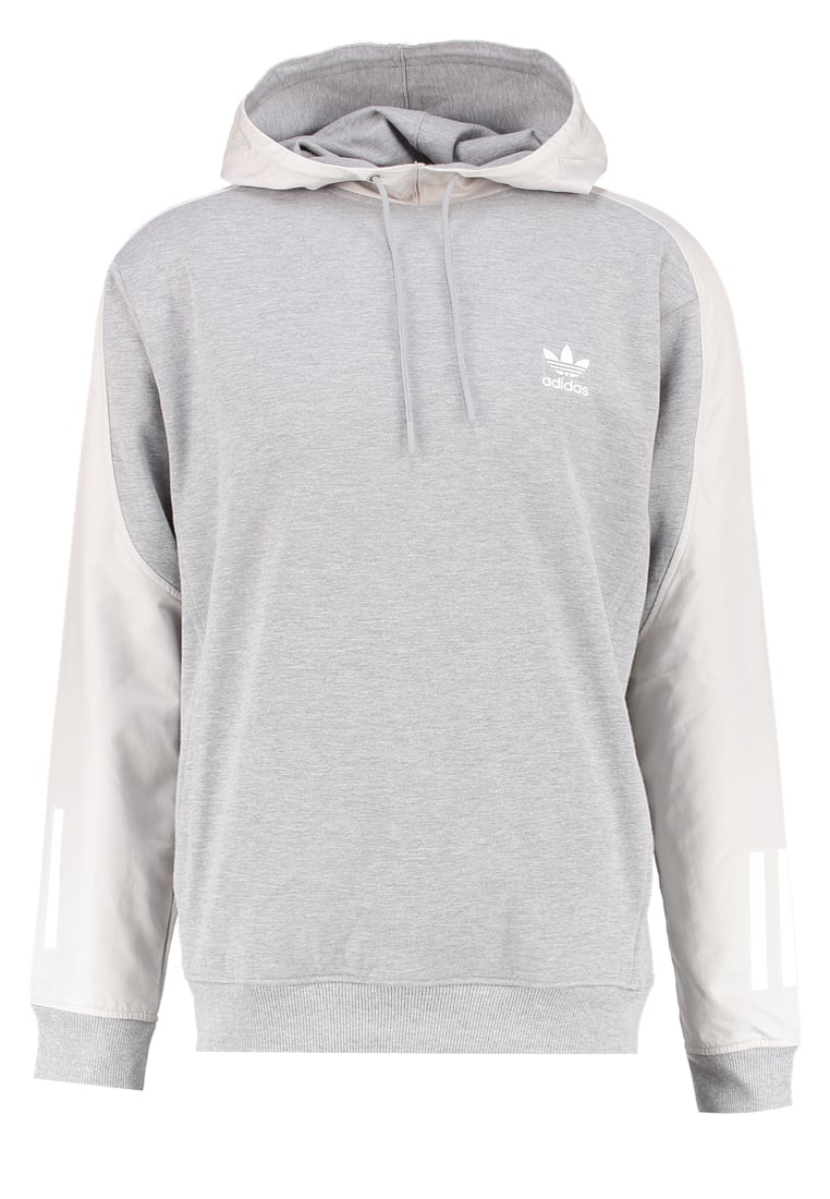 adidas Originals Bluza z kapturem medium grey heather - NQD13