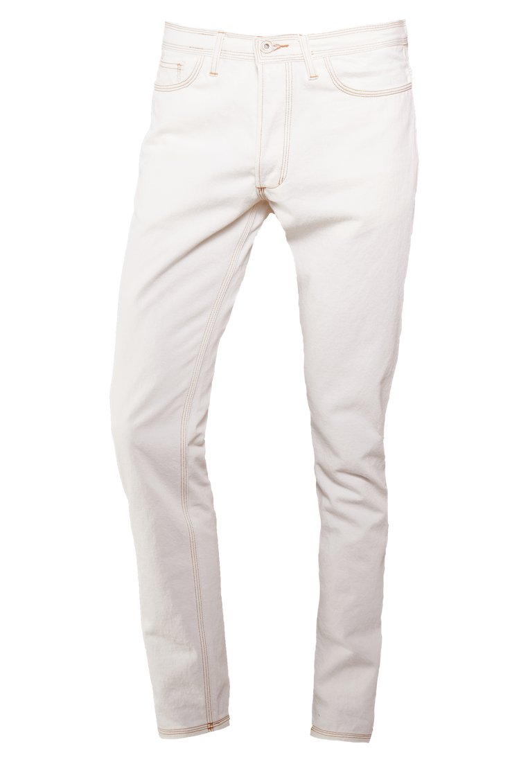 Band of Outsiders WAVE TROUSERS Jeansy Slim Fit ivory - DT0004DD102