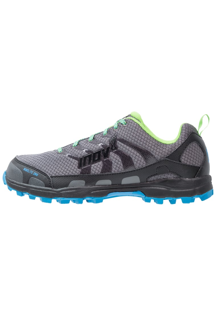 Inov8 ROCLITE 280 Buty do biegania Szlak dark grey/green/blue - 5054167541