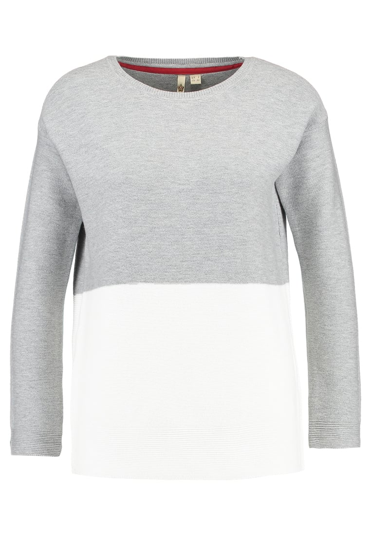 White Stuff CROSSROADS Sweter grey & white - 420719